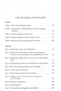 Water which..., List of tables and figures